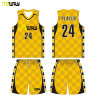 Wholesale Custom Sublimation Printed Embroidered Home Shirts Basketball Jerseys