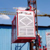 SGS / Ce Certificated Mast Section Climbing Construction Hoist for Vertical Lifting Issue