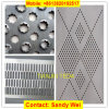 Metal Sheet Stainless Steel Mild Steel Aluminum Copper Perforated Sheet Mesh Belt