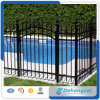Black Wroght Iron Security Fence for Swimming Pool with SGS Certification/Pool Fence