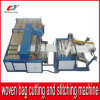 Automatic Cutting and Stitching Machine for PP Woven Bag Fabric Roll Bottom