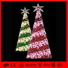 Holiday Decoration Outdoor Yellow PVC Christmas Tree
