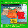 Used Clothing Good Quality for Ladies Silk Blouse