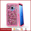 Anti Dust Protector Case Liquid Glitter Heavy Duty Defense Phone Covers with Belt Clip