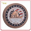 Custom Copper Plated 3D Soft Enamel Souvenir Challenge Coin