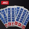 Clothes Labels Removable Washed Stickers Labels