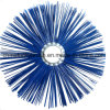 Blue PP Wire Snow Round Brush (YY-742)