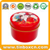 Custom Round Tin Box Metal Tin Can for Packaging Gift