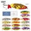 Wholesale Corlorful Metal Fishing Spoon Lures