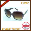 F15597 Italy Design UV400 Ce Polarised Women Sunglasses