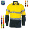 Custom Reflective Workwear Hi Vis Clothing Working Shirts