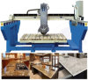 Marble Granite Bridge Saw with 45 Angle for Miter Cut Fabricating Slabs&Counter Tops (XZQQ625A)