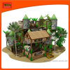 Jungle Style Wooden Play House Indoor Outdoor Play Equipment