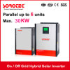 on/off Grid Hybrid Solar Inverter 4kVA 48V with 80A MPPT Solar Charge Controller