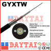 Outdoor 2~24 Core Fiber Optical GYXTW Cable for Duct Application
