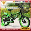 "2016 Popular Black 16"" or 20"" Children Bicycle with Aluminum Alloy Rim"