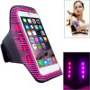 Elastic Running Cellphone LED Armband at Night