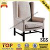 Hotel Wooden Comfortable Leisure Arm Chairs
