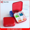 Plastic Square Pill Box (KL-9062)