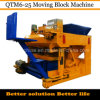 Qtm6-25 Dongyue Egg Laying Hollow Concrete Block Making Machine Mobile
