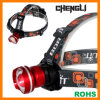 Chengli High Power 500lumens CREE T6 LED Zoomable Aluminum LED Headlamp with 3PCS AA Size Battery (LA1208) for Hunting