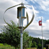 600W Maglev Vertical Wind Turbine Generator Could Afford 65m/S Wind