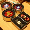 2017 New Fashionable Toy Hand Spinner Superman/Captain America/Spiderman Fidget Spinner