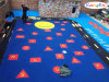 Colored EPDM Rubber Granules for Kids Courts