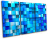 Abstract Blue Pictures Canvas Prints Wall Decor
