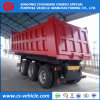3 Axle 40tons Rear Self Dumping Dump Semi Trailer Tipper Trailer