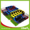 Wonderful Indoor Trampoline Park with Aritificial Grass Floor
