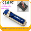 Leather USB Flash Memory Stick with Custom Logo 1-64GB (EL001)