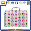 Tulip Flower Pattern Carrying Makeup Case (HB-6313)