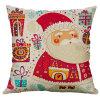 Merry Christmas Cushion Cover Decorative Pillows Cover for Sofa Seat Square Soft Throw Pillow Case Home Decor
