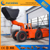 Electric underground mining loader with flexible operation system Load-haul-dump