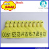 78*58mm Laser Printing Cattle Ear Tag for Animal Management