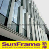 Aluminium Unitized Glazing Window Curtain Wall System