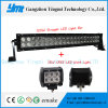 Curved LED 120W Light Bar+ 18W Fog Driving Work Light