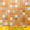 Yellow Orange Swimming Pool Crystal Glass Mosaic (Color P11)