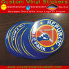 Custom Logo Gloss or Lamination Finish UV Coated Vinyl Round Stickers