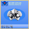 Xc-B2342 Stainless Steel Beaded 90 Degree Double Fixed Clamp