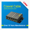 10/100m Ethernet Over Coaxial Eoc Converter with 1 BNC Port and 4X Ethernet Ports