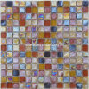 Iridescent Mosaic, Glass Mosaic Tile (HGM366)