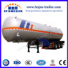 3 Axle Air Suspension 50~60 M3 Propane Gas LPG Transporting Gas Tank Liquid Fuel Tanker Trailer for Sale
