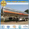 35cbm Aluminium Alloy Tanker Trailer 2 Axles Stainless Steel Tanker