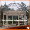 Round Iron Cover Roman Style Gazebo in Pool