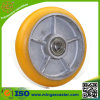 Crown Type Cast Iron PU Caster Wheel