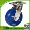Solid PU Swivel Trolley Stainless Steel Caster