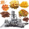 Breakfast Cereals Corn Flakes Twin Screw Puffs Snacks Food Making Production Line Extruder Machine