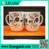 Simple Black Design, Heat Transfer Film for Plastic Mug